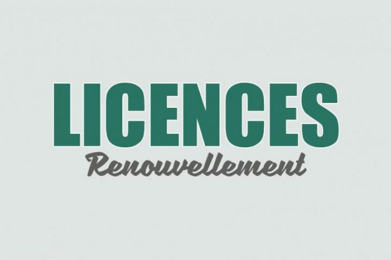 Permanence licences 2019/2020