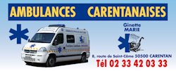 Ambulances carentana...
